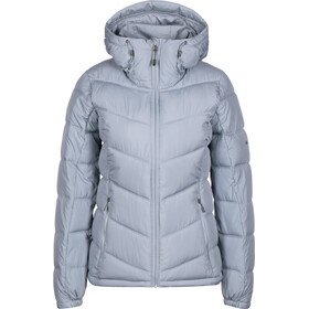 Columbia Pike Lake Hooded Jacket Women tradewinds grey